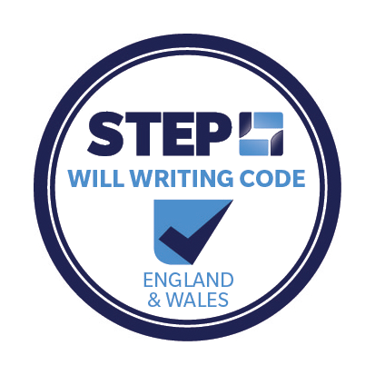 STEP will writing logo